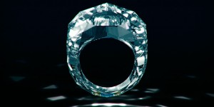 Super Bling - 150 Carat, $70 Million All Diamond Ring