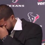 Arian Foster Choking Up