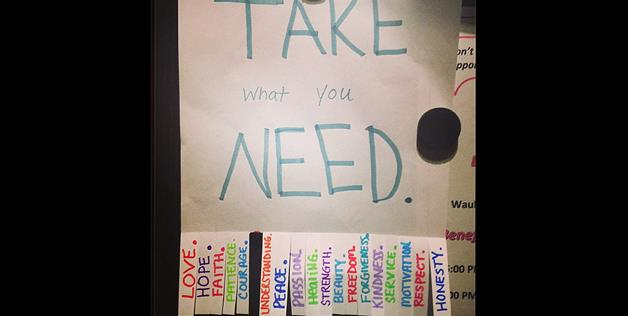 Take what you need (lnebor via Instagram)